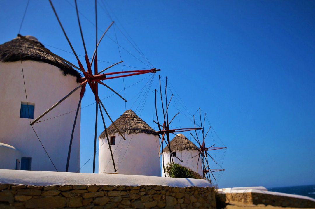 Visit the famous windmills of Mykonos is one of the 10 top things you can do in Mykonos.